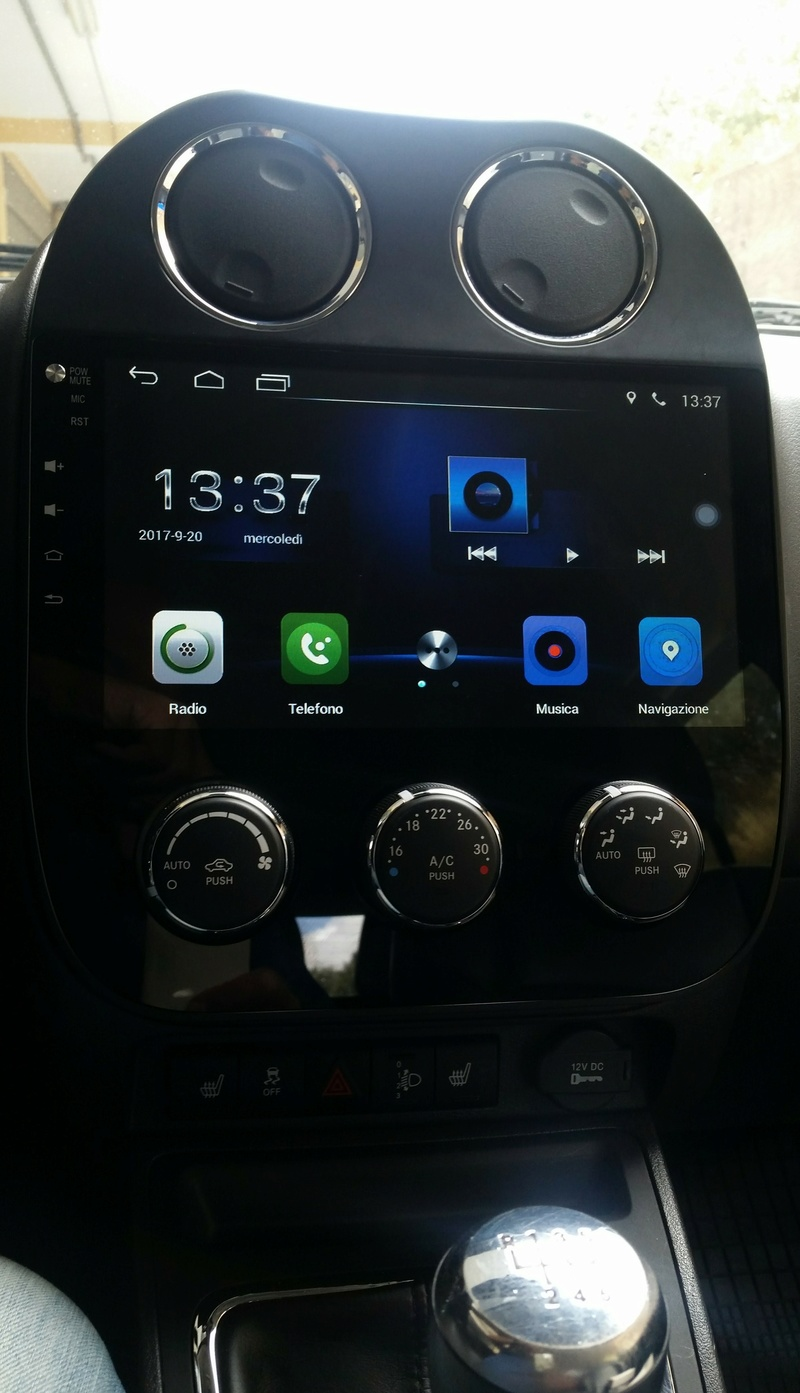 Jeep Compass 2013  2.2 CRD 163CV Sostituzione autoradio  Img_2011