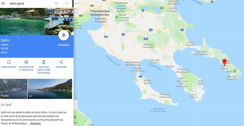 Projet de voyage en Grèce été 2018 - Page 5 Dafni10