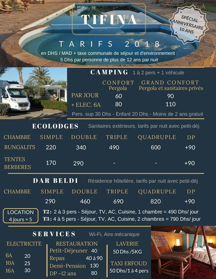 [Maroc Camp/Dernières nouvelles] Boite à idées pour futur camping au Maroc - Page 2 Tifina10