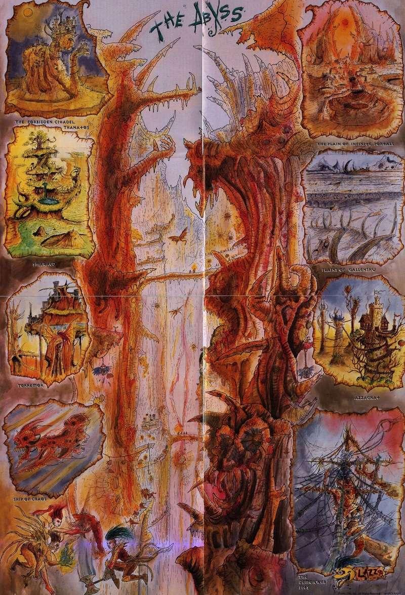 Carte des Abysses