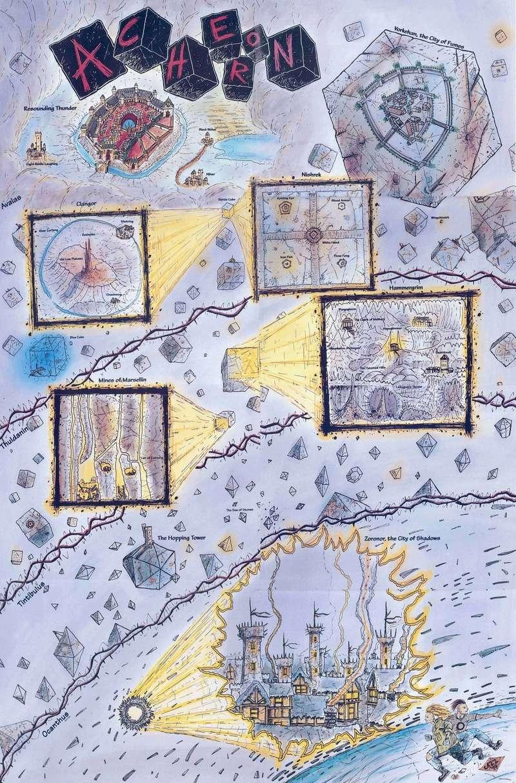 Carte de l'Achéron