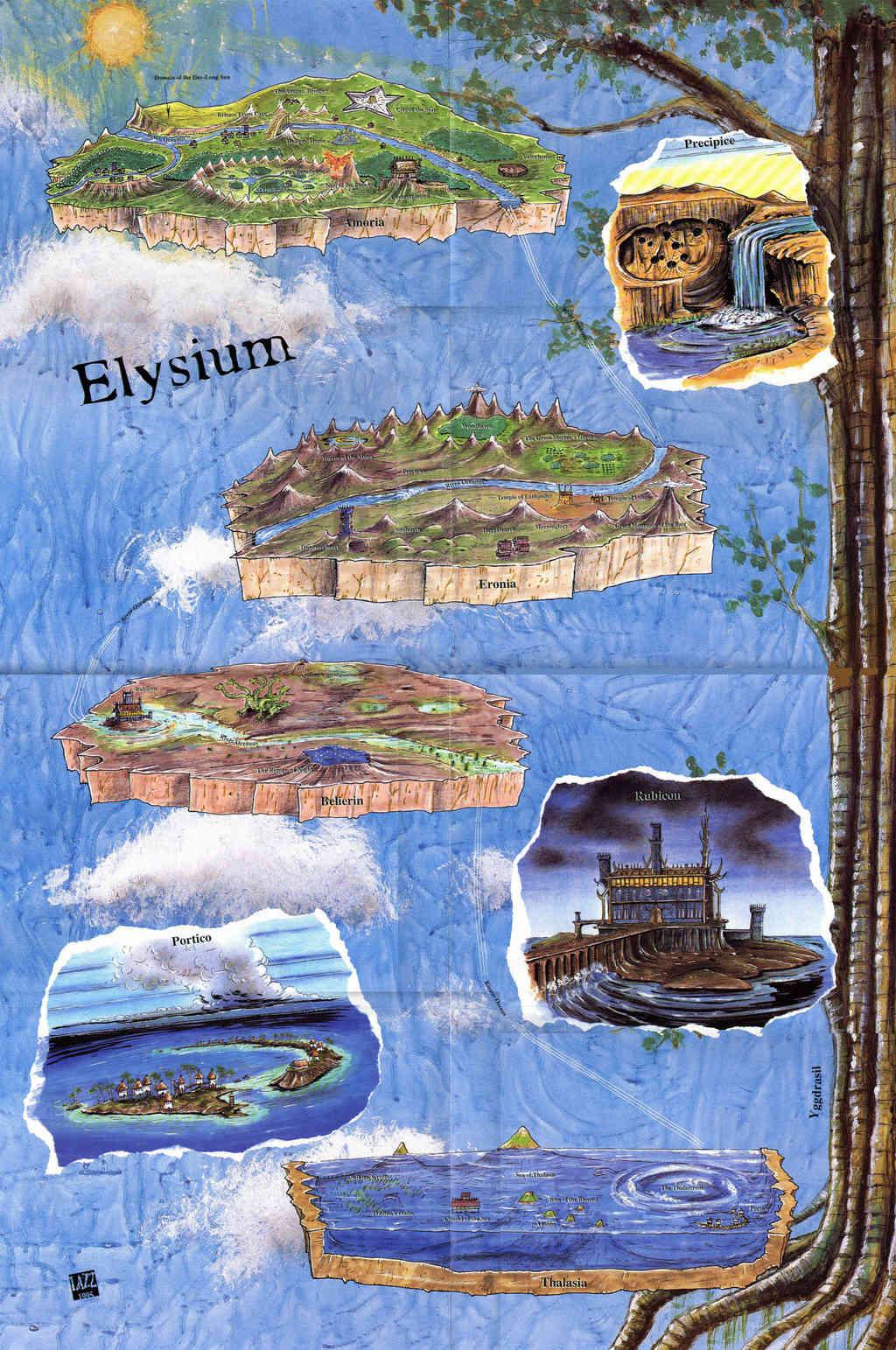 Carte des Elysées