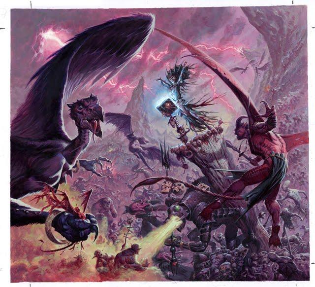 Hiérarchie et armées des Enfers Guerre10