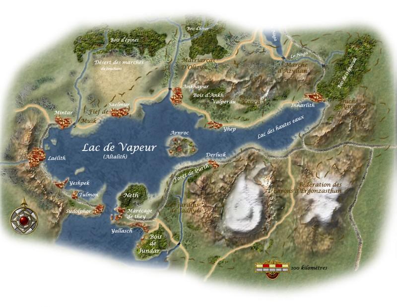 Lac de vapeur