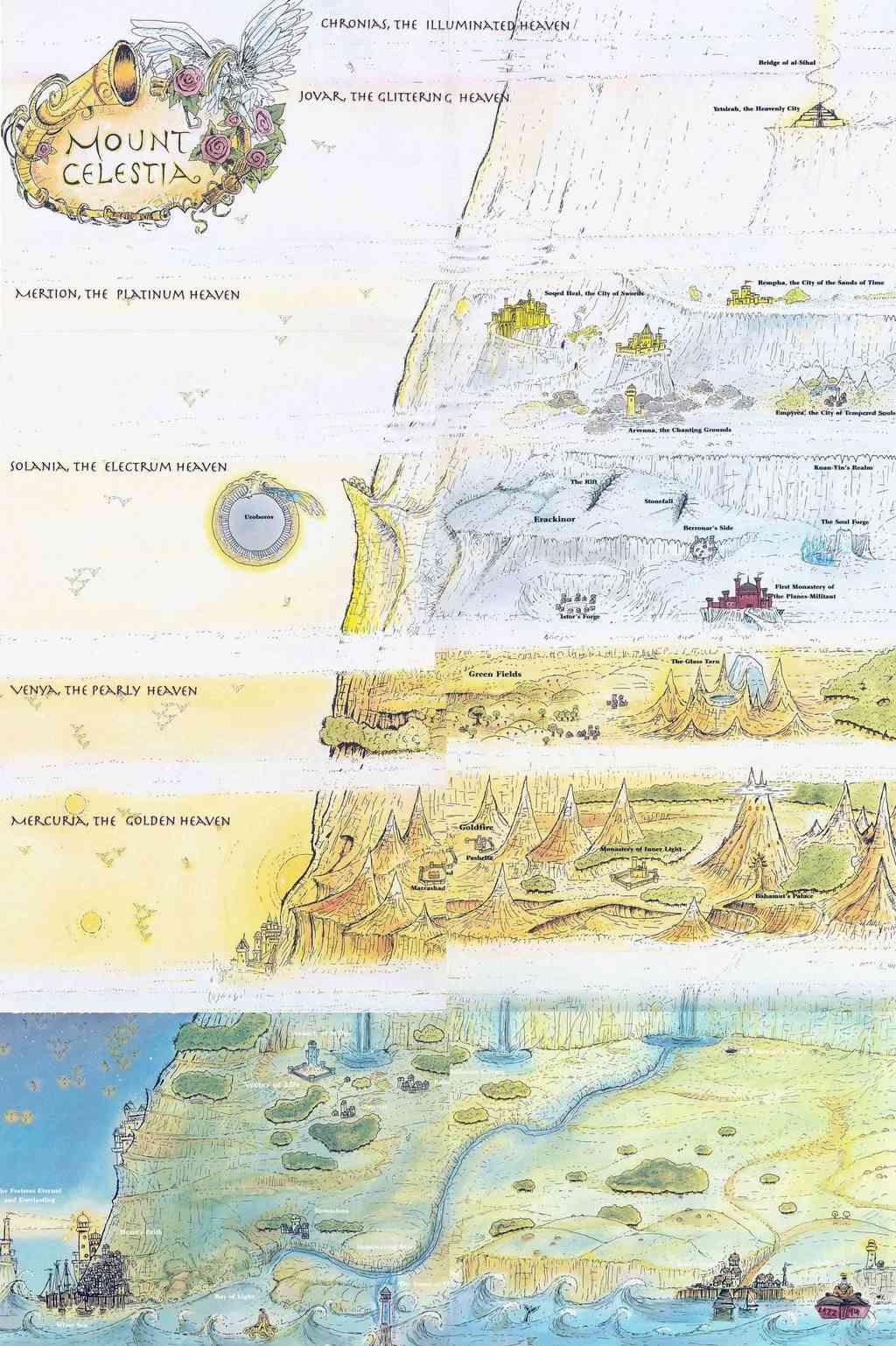 Carte des Monts Céleste