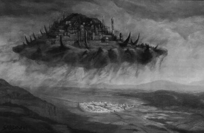 """Pénombre """"Thultanthar*, Antique cité de Néthéril"""