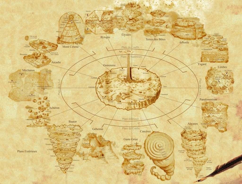 Carte des plans Extérieurs