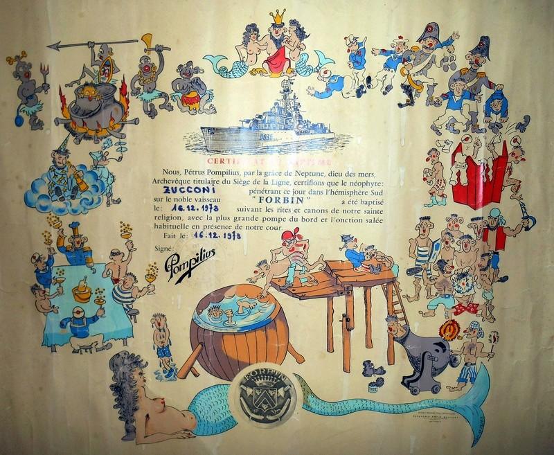 [ Les traditions dans la Marine ] Les diplômes de la Ligne - Page 5 Dscn0410