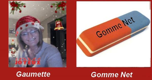 Humour avec les noms des artistes connu Gaumet10