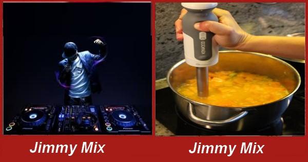Humour avec les noms des artistes connu Jimmy10