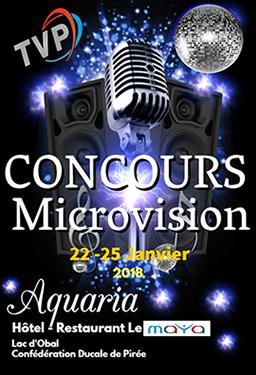 Salle de Spectacle - 3ème CONCOURS MICROVISION - AQUARIA -  Affich10