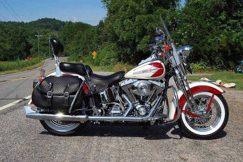 Echappement PAUGHCO pour mon FATBOY S Harley12