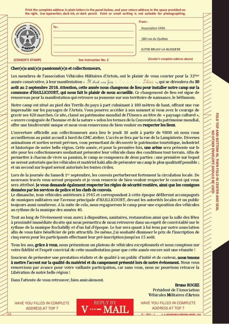 Mot du Président V-mail11