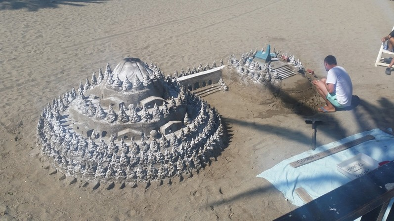 Les statues de sable  20170610