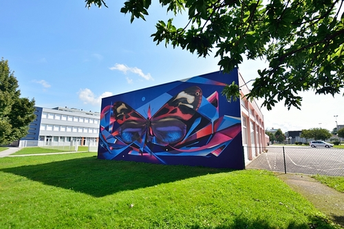 les plus beaux Street Art  Fresqu11