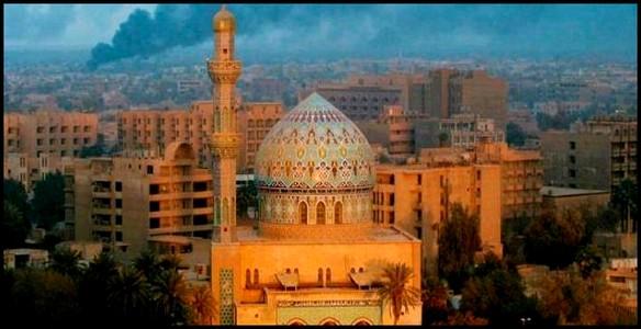 Récitation de l alphabet avec des villes  ou pays du monde  - Page 4 Bagdad10