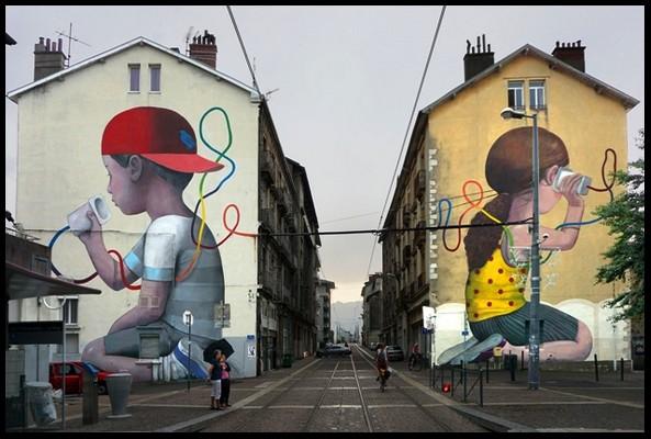 les plus beaux Street Art  - Page 2 Street18
