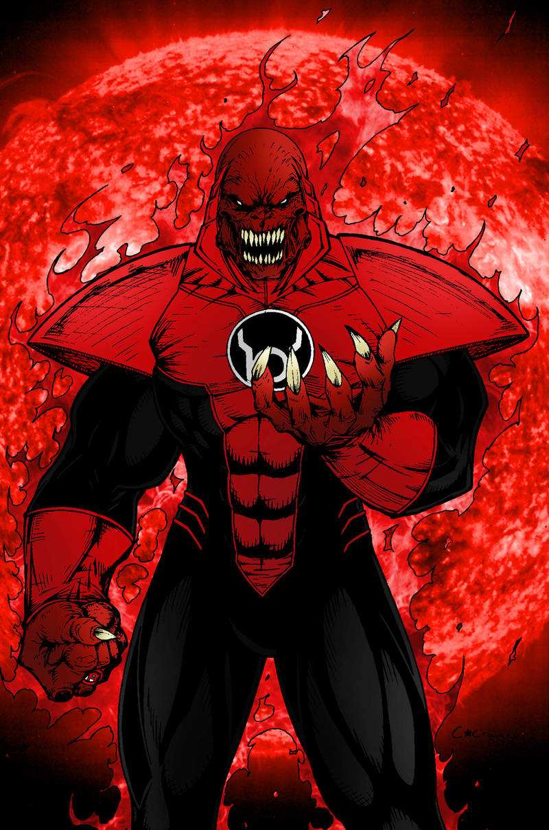 Cannon DC Comics Atrocitus Red Lantern Supervillian .... merry christmas   76a75910