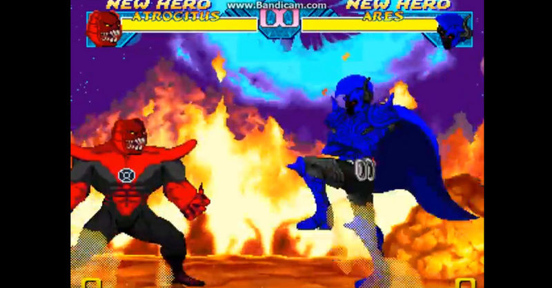 Cannon DC Comics Atrocitus Red Lantern Supervillian .... merry christmas   Bandic12