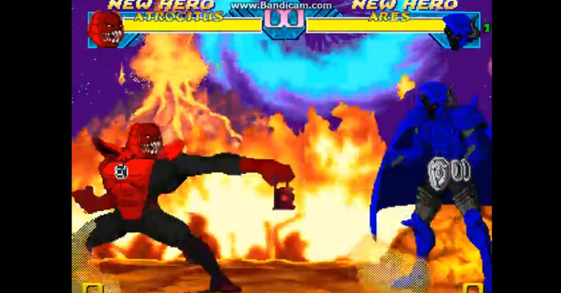 Cannon DC Comics Atrocitus Red Lantern Supervillian .... merry christmas   Bandic13