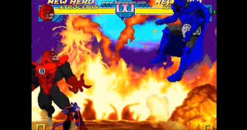 Cannon DC Comics Atrocitus Red Lantern Supervillian .... merry christmas   Bandic14