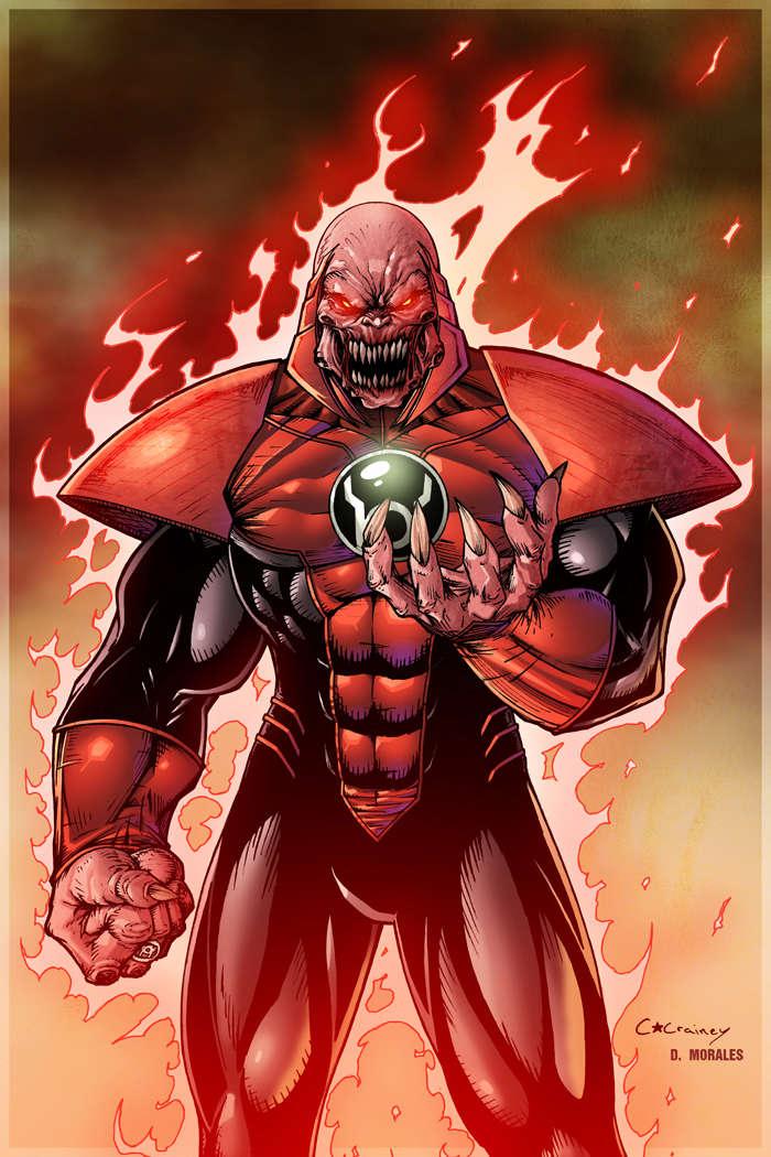 Cannon DC Comics Atrocitus Red Lantern Supervillian .... merry christmas   D2e6e810