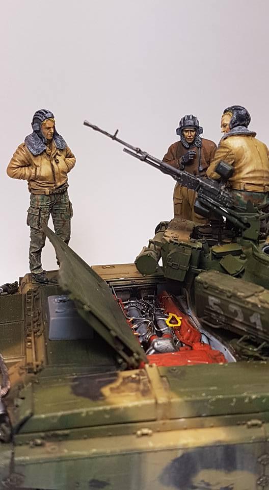 T-72 B3, de Meng 210