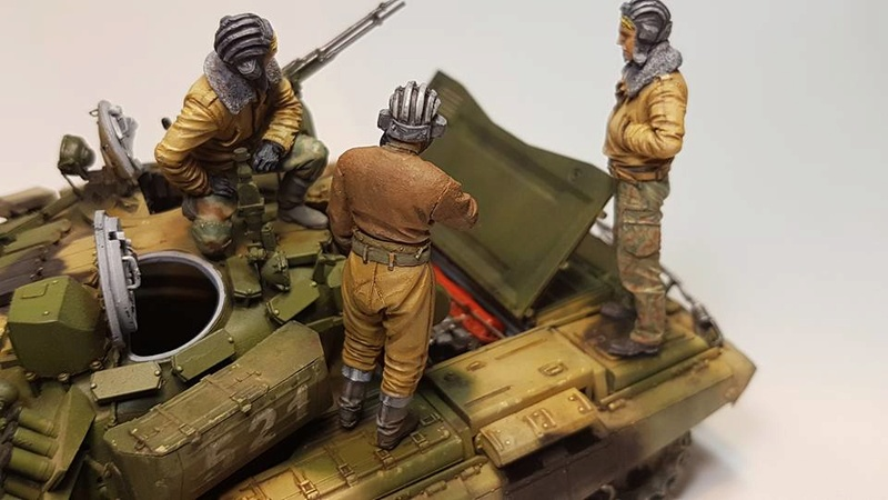 T-72 B3, de Meng 610