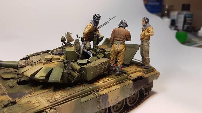T-72 B3, de Meng 710