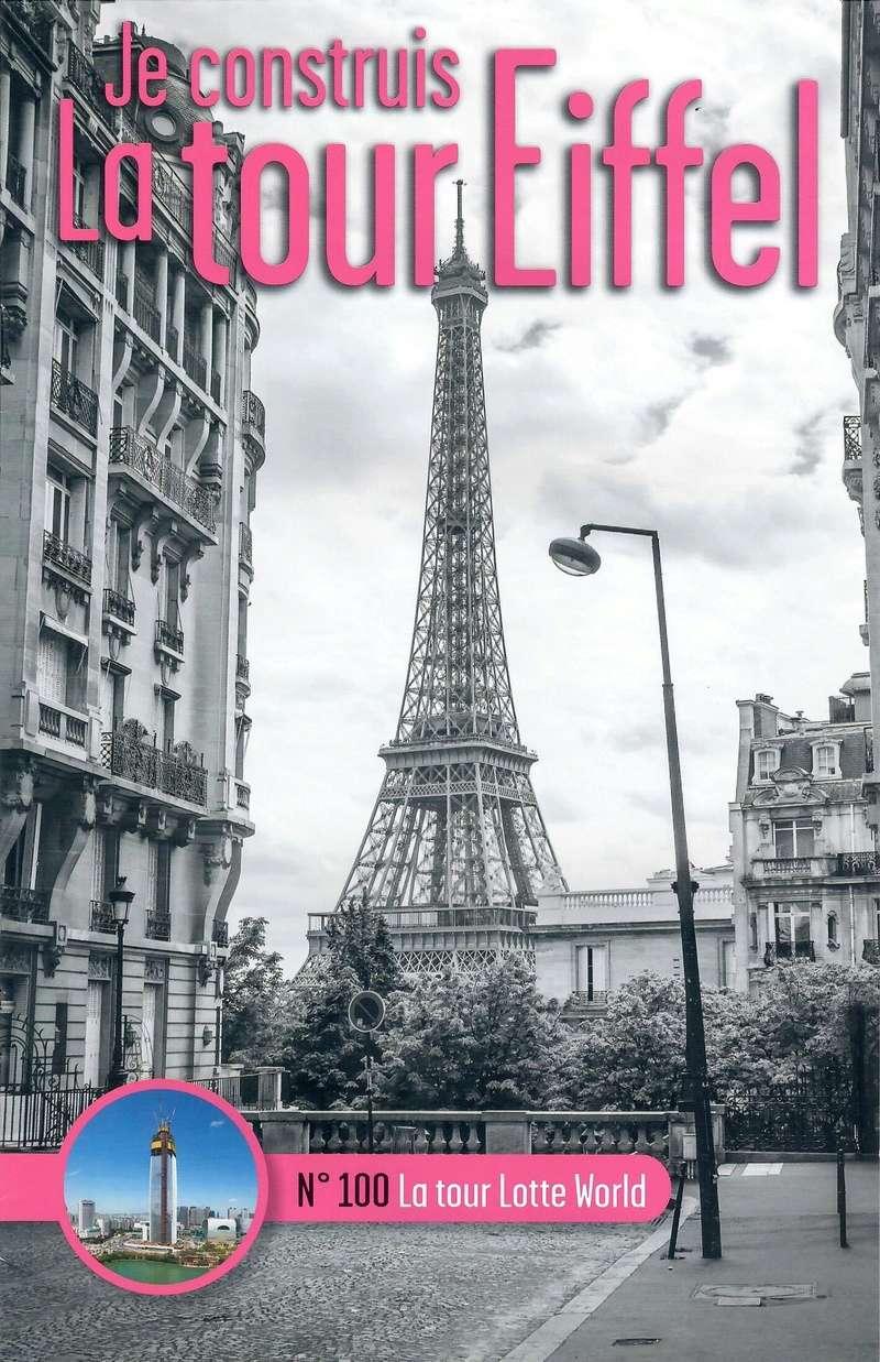 Numéro 100 - Je construis la Tour Eiffel - La tour Lotte World N1000011