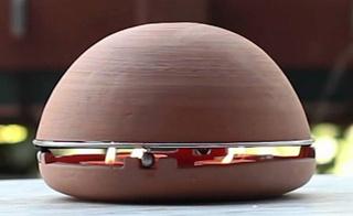 "Egloo, le chauffage ""pot de fleur"" Dome-e10"