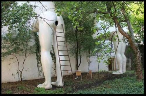 Les sculptures les plus insolite  814
