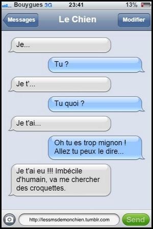 Humour sur les texto !!! - Page 2 Chien_11