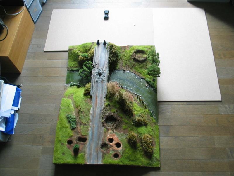 la bataille de la Fière. un projet de table modulable pour Bolt Action- Une échelle: du 28mm - Page 26 21oct018