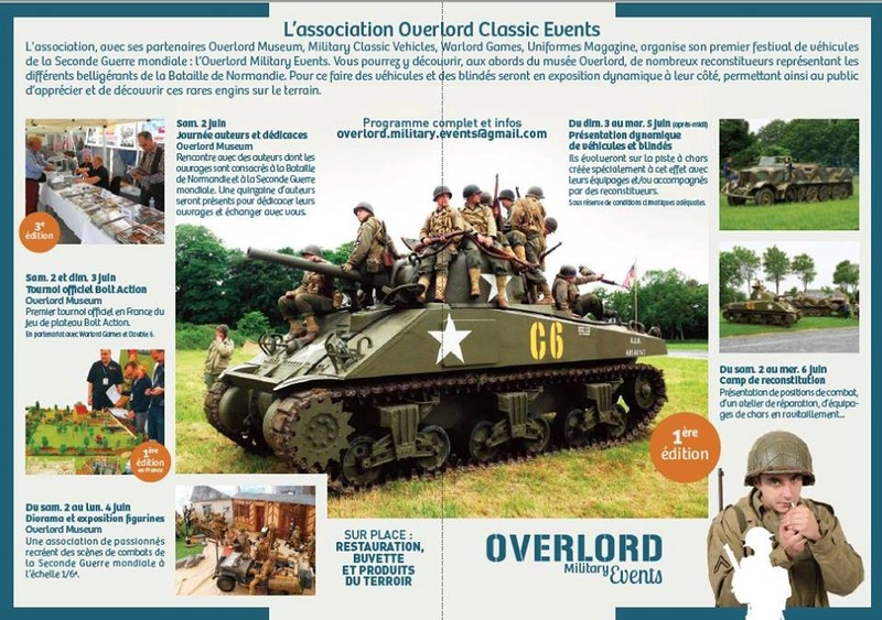 OVERLORD MILITARY EVENTS - 2 au 6 JUIN 2018 31369410