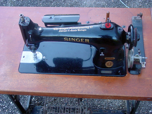 restauration/renovation SINGER 96K51 Singer12