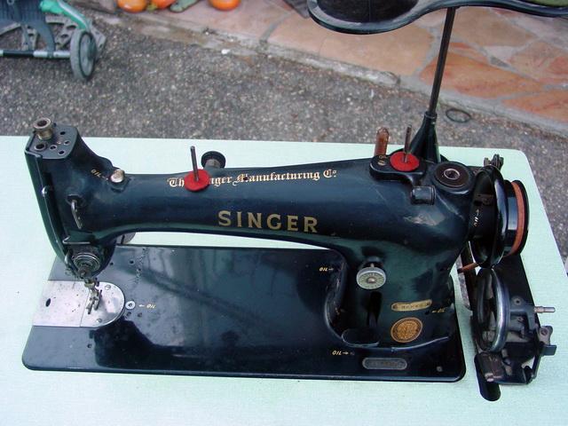 restauration/renovation SINGER 96K51 Singer13