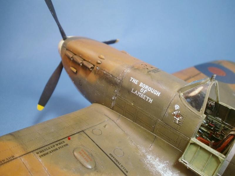 "Spitfire MkIIa "" The borough of Lambeth"" 1110"