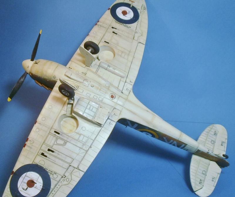 "Spitfire MkIIa "" The borough of Lambeth"" 1310"