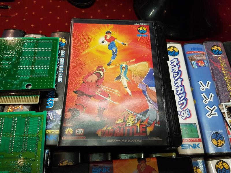Authentification Fu'un Super Tag Battle (Kizuna JP) AES 20171015