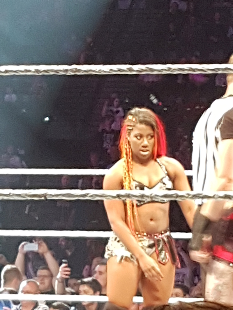 PHOTOS WWE LIVE EVENT PARIS 2018 Amber_10