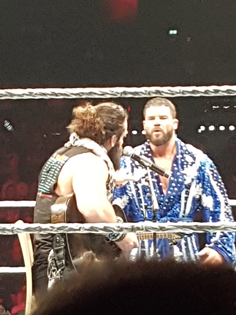 PHOTOS WWE LIVE EVENT PARIS 2018 Elias_15
