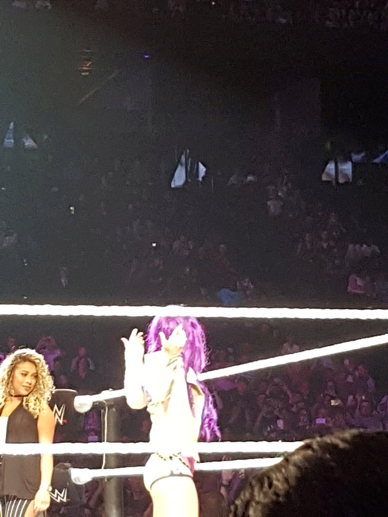PHOTOS WWE LIVE EVENT PARIS 2018 Sasha_10