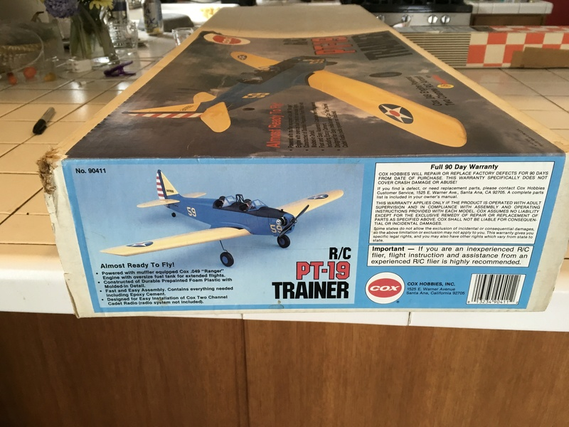 Cox R/C PT-19 Trainer 62f59410