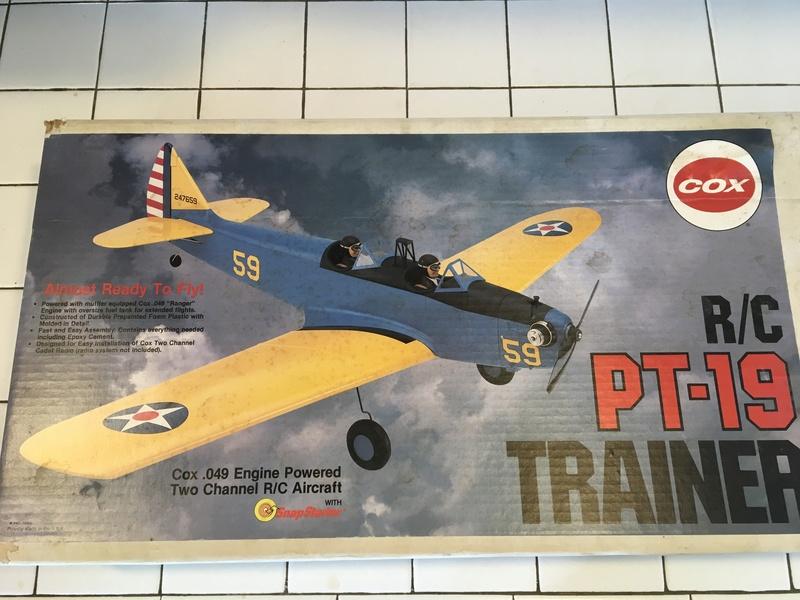 Cox R/C PT-19 Trainer A3962310
