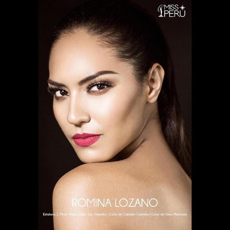 Romina Lozano - PERÚ UNIVERSE 2018 27657310