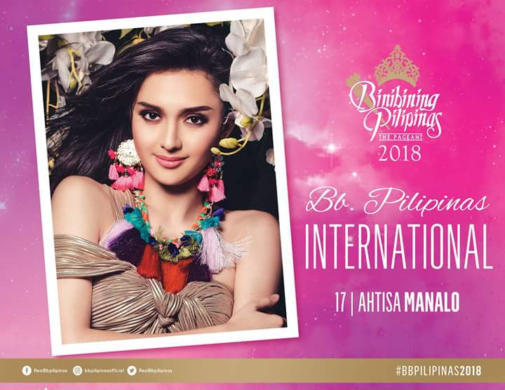 BINIBINING PILIPINAS - INTERNATIONAL 2018: Ma Ahtisa Manalo  Fb_i3933