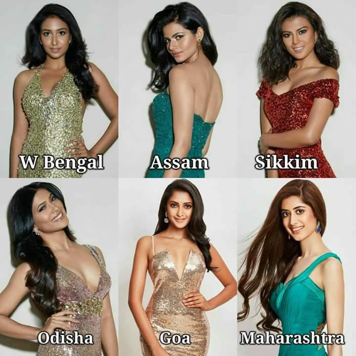Road to Femina Miss India 2018 - Winner is Tamilnadu Fb_i4824