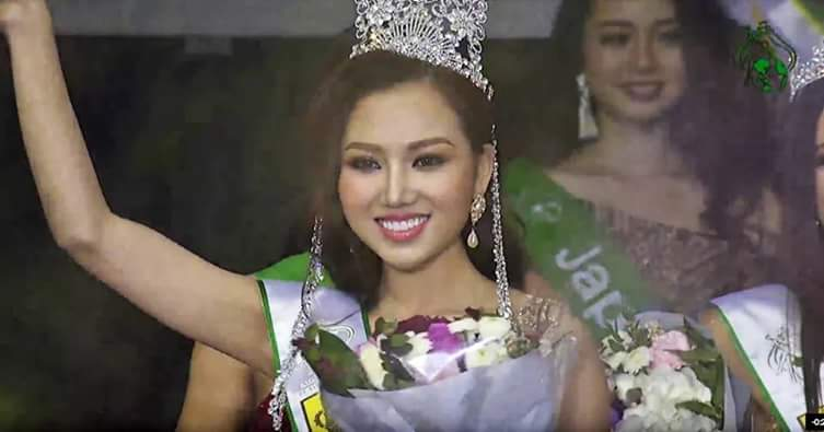 Miss Global Beauty Queen 2017 is VIETNAM!  Fb_im257