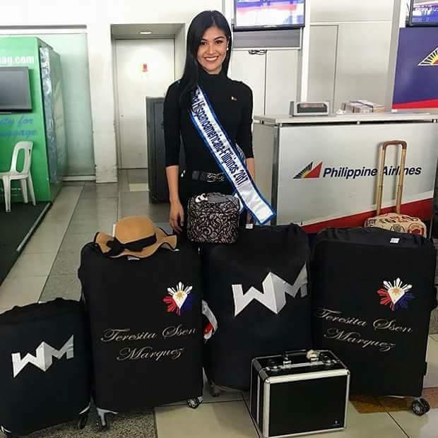 Road to Reina Hispanoamericana 2017 is WynWyn Marquez of the Philippines Fb_im262